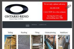 Ontario Reno Services